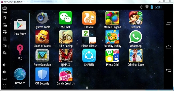 Android apps player