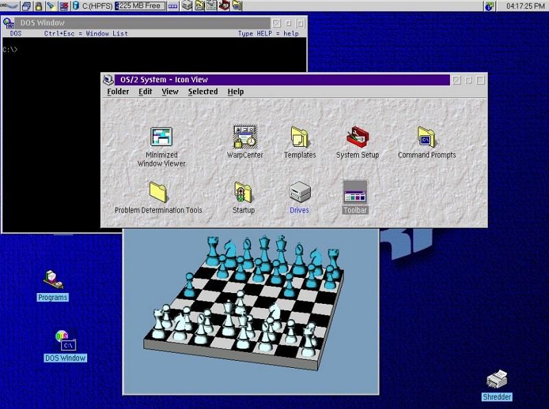 The legendary OS 2
