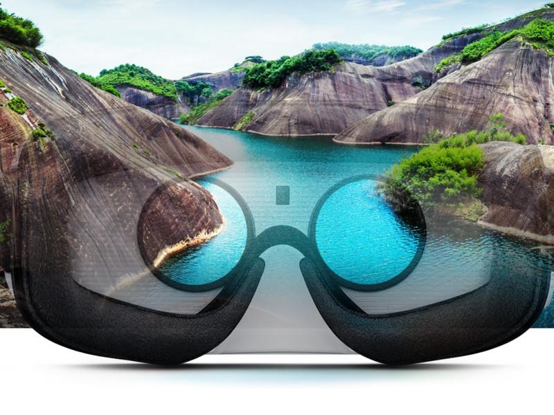 Application for VR glasses