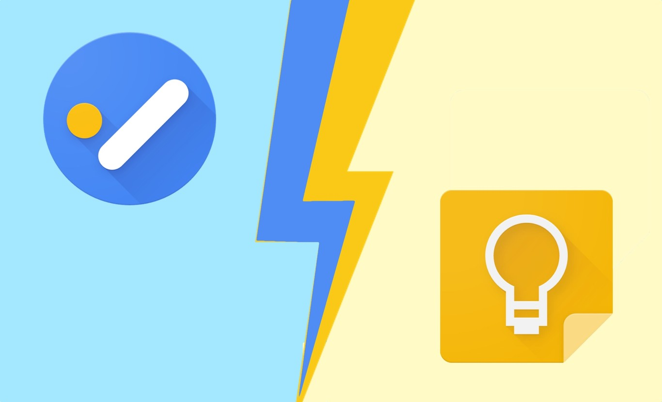 Google Tasks vs. Google Keep