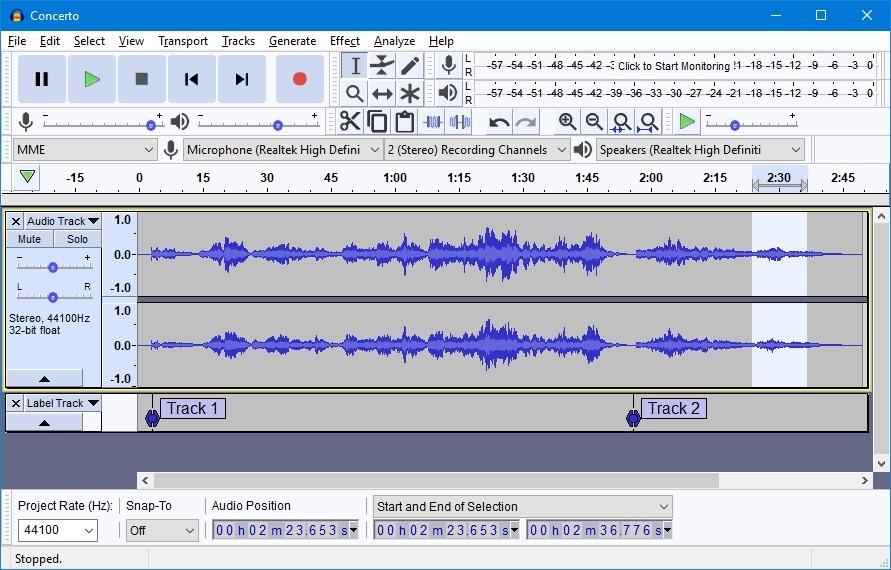 audio editor for windows