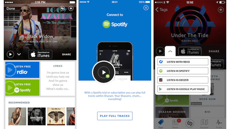 Spotify on Android