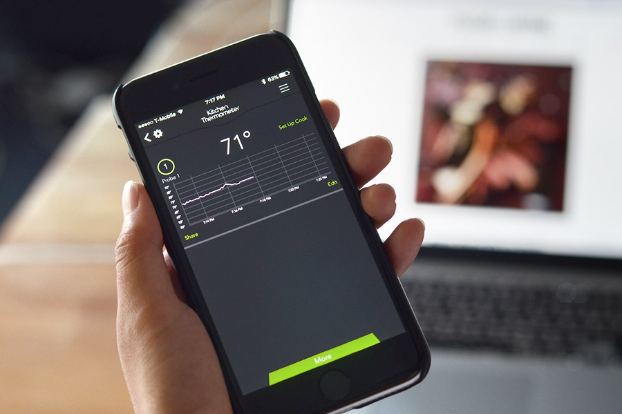 mobile thermometer