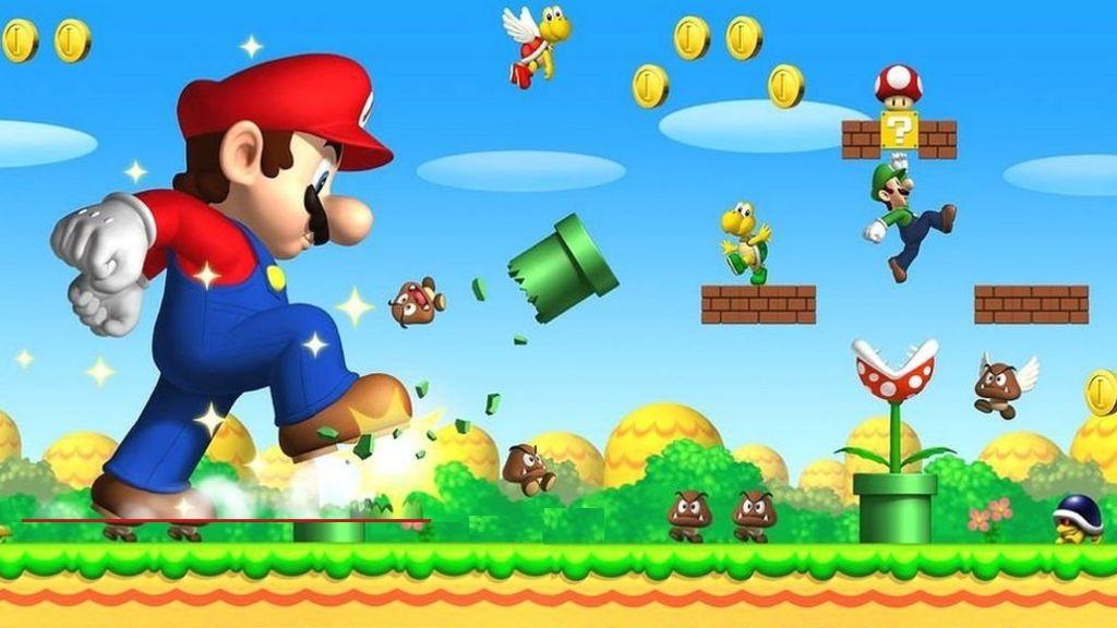 Mario bros views on template