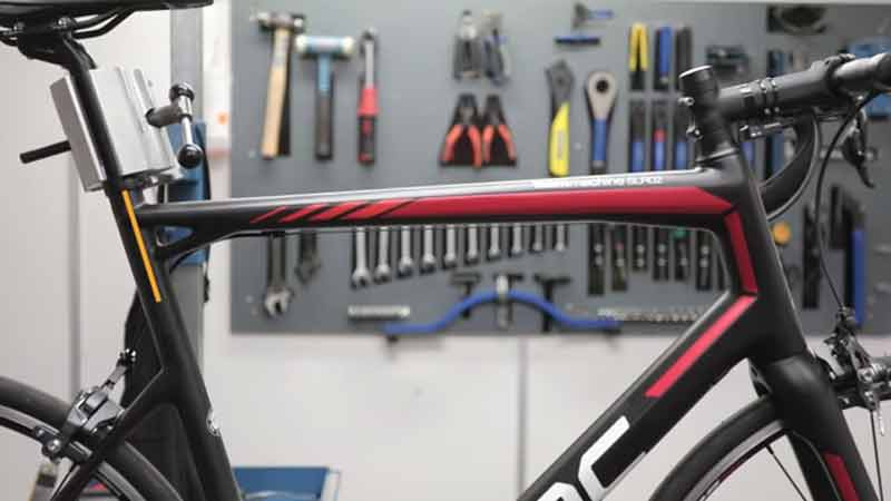 Bike Frame Size Measuring